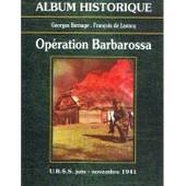 Op�ration Barbarossa de Georges Bernage