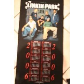 LINKIN PARK DRAPEAUX TISSUS CALENDRIER 2000 42CM X 95 CM