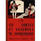 Contes Et L�gendes De Shakespeare de Clot, S.
