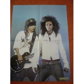 Tokio Hotel Bill Tom Kaulitz / Georg Listing Poster 41,5x56cm