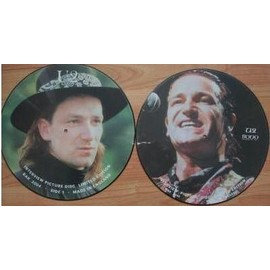 U2 Interview picture disc (Philadelphia 1987 part 2)