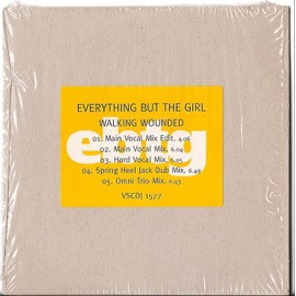 """cd EVERYTHING BUT THE GIRL-Walking Wounded-5 Remix 12"""""""