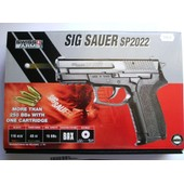 Airsoft Sig Sauer Sp2022 Police Fran�aise � Gaz Co2 1 Joule