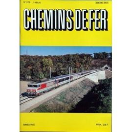Chemins De Fer N� 375 Du 01/06/1985