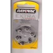 Rayovac PR70 - Piles pour appareil auditif