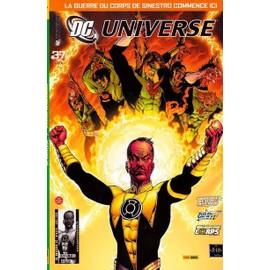 Dc Universe N� 37 : Seconde Renaissance (La Guerre Du Corps De Sinestro Commence Ici)