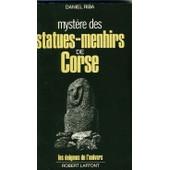 Myst�re Des Statues-Menhirs De Corse de daniel riba