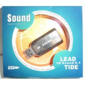 Lead Tide 3D 5.1 - Cl� USB carte son 5.1