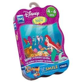 La Petite Sir�ne: Ariel Devient Une Princesse - Jeu Pour V.Smile (Vtech Vsmile)