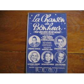 la chanson du bonheur  walt disney    pierre arras augustin lara  j p dujay j moreau  lucienne vernay