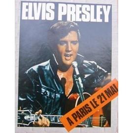ELVIS PRESLEY - Poster Slc. Format 27.5 x 21 cm.