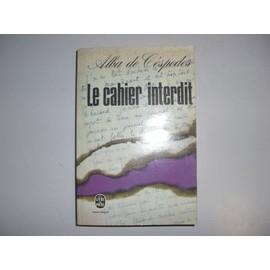 Le cahier interdit - De Cespedes, Alba