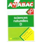 Anabac 90 - Sciences Naturelle D de Collectif