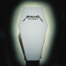 METALLICA Death Magnetic 2 CD - Coffret Collector Cercueil - Limited Edition