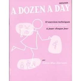 Dozen A Day Mini Book En Francais - Rose