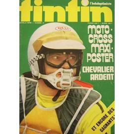 Tintin L' Hebdoptimiste Nouvelle Serie N� 14 : Moto Cross Maxi Poster - Chevalier Ardent