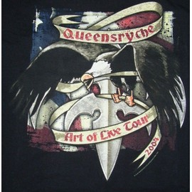 "Queensryche - t.shirt Tournée ""Art of Live 2004"" - Taille L - 100% coton"