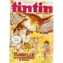 Tintin N� 391 : Isabelle Un R�cit Moyen�geux De Servais