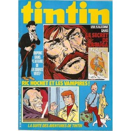 Tintin N� 274 : Dupont Dans L Affaire De La Souris Verte
