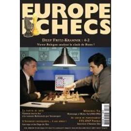 Europe Echecs N� 562 : Deep Fritz-Kamnik : 4-2 Victor Bologan Analyse Le Clash De Bonn !