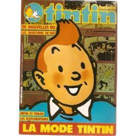 Hebdomadaire Tintin N� 334