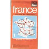 France Nord-Sud - 1/1 000 000, Routi�re Et Touristique, Routes Et Autoroutes de Collectif