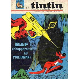 Journal De Tintin N� 894 : Baf Echappera T Il Au Poilhamak