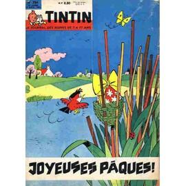 Tintin N� 704 : Joyeuses P�ques