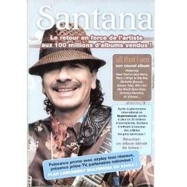 SANTANA PLAN MEDIA POSTER ALL THAT I AM FORMAT 60 X 40 CM. 50299