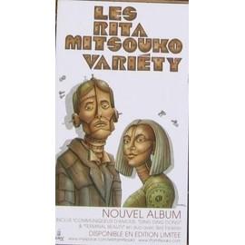 RITA MITSOUKO (LES) PLV PLAQUETTE VARIETY