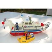 Playmobil - Bateau Des Gardes Cotes