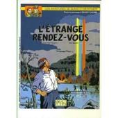 Blake Et Mortimer -L'etrange Rendez-Vous - Carte Postale Publicitaire