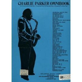 Charlie Parker Omnibook C Instruments Edition Instrument en Ut (Flute ou Trombone)