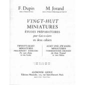 28 Miniatures Caisse Claire Volume 1