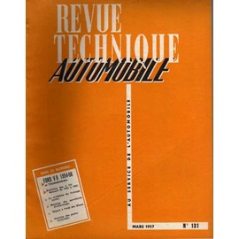 REVUE TECHNIQUE AUTOMOBILE N° 131 : FORD V8 1954/56 d'occasion  Livré partout en France