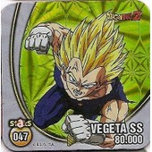 Staks Dragon Ball Z N�047 - Vegeta Ss