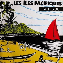 VISA - Les Iles Pacifiques - 45T x 1