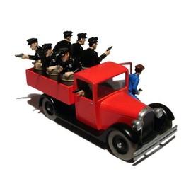 En Voiture Tintin - Le Camion De Police De Chicago