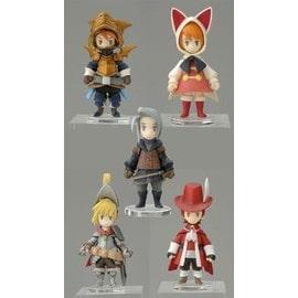 Final Fantasy Iii Ds Trading Arts Mini Pack 5 Fig