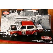 Simca 1000 Rallye 2 Monte Carlo 1973 1/43 Fiorentino