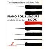 Piano For Pleasure Book 1 - The Waterman/Harewood Piano Series Ed/Faber Music