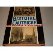 Histoire De L'autriche Des Origines � Nos Jours de erich zollner
