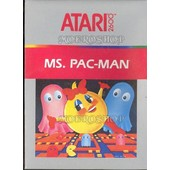 Ms Pac Man - Atari 2600 - Pal