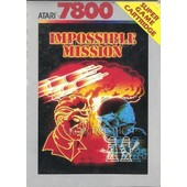 Impossible Mission - Atari 7800 - Pal