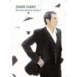 Clerc Julien : où s'en vont les avions ? (chant + piano + accords)