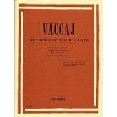 Vaccai : Metodo Pratico Di Canto (Mezzo-Soprano Ou Baryton) + 1 Cd - Ricordi
