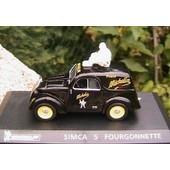 Simca 5 Fourgonnette Michelin Publicitaire - 1/43