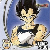 Staks Dragon Ball Z N�41 - Vegeta
