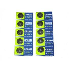 10 Piles Boutons Cr2032 Lithium Battery Super I 3v