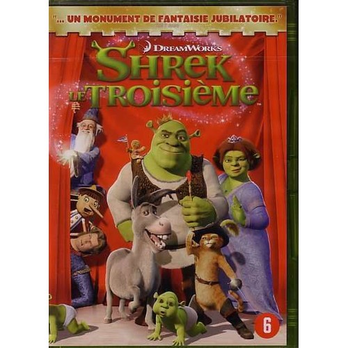 SHREK 3 (DVD)